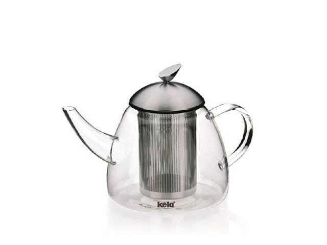 Sklenená kanvica na čaj